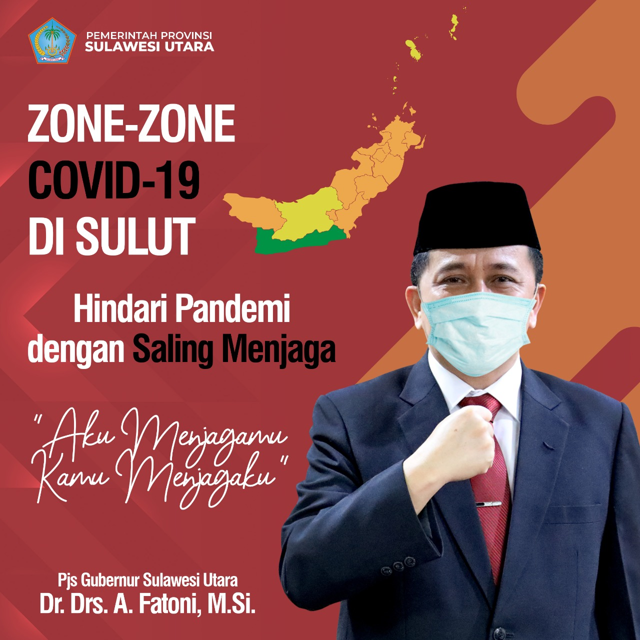 Hindari Pandemi Dengan Saling Menjaga