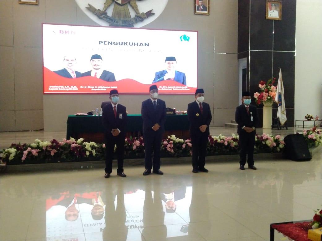 Pjs. Gubernur Hadiri Penyerahan DIPA dan TKDD 2021 Secara Virtual, Presiden: APBN dan APBD Harus Dimanfaatkan Untuk Kepentingan Rakyat